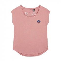 T-shirt fille Graphic Girl Tee - Picture Organic Clothing - Bois de Rose - 2022