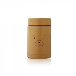 Boite repas isotherme Bernard - Liewood - Mr bear golden caramel