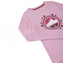 T-shirt technique à manches longues - Viluton - Reima - rose