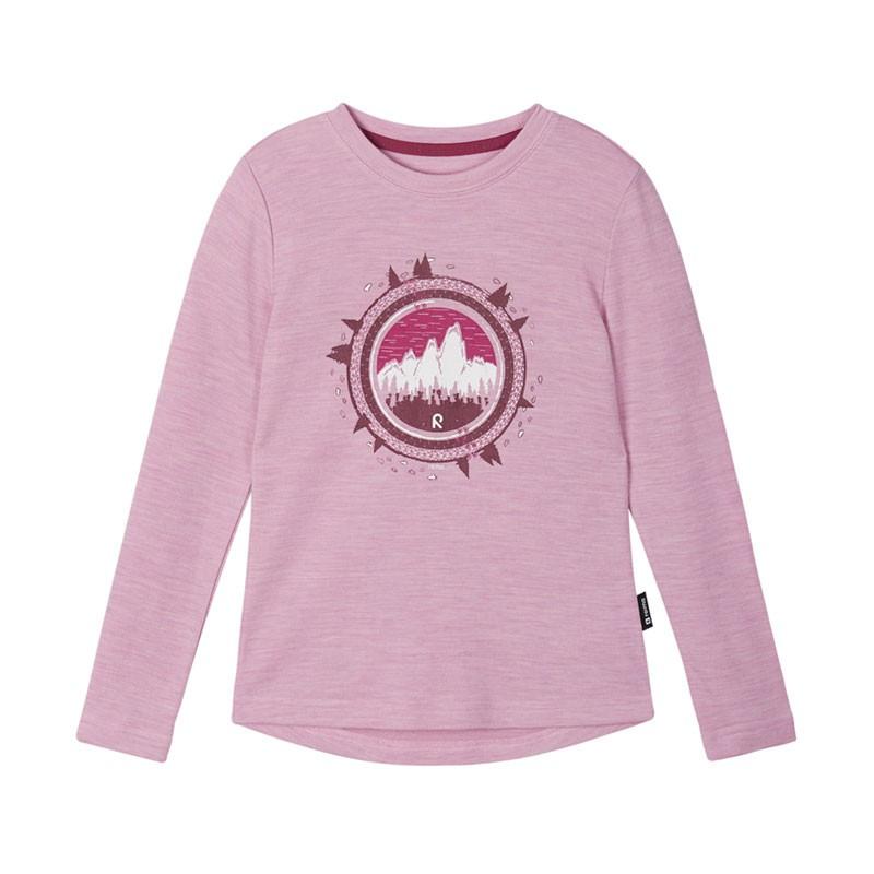 T-shirt technique à manches longues - Viluton - Rosy Pink - Reima - 2022