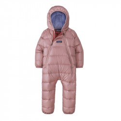 Combinaison doudoune bébé Patagonia - Fussy mauve