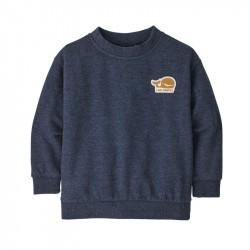 Baby LW Crew Sweatshirt - Patagonia - New Navy - 2022