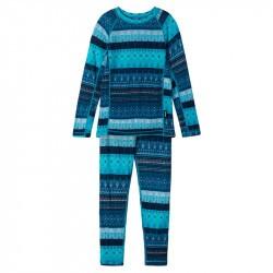 Sous-vêtements thermique enfant en laine et bambou - Taitoa - Reima - Navy - 2022