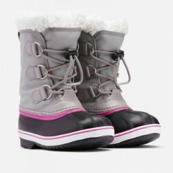 Botte neige enfant Sorel Yoot Pac Nylon - gris chromé/ noir - 2022