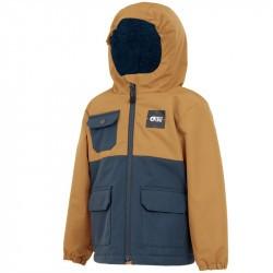 Snowy Jkt - 18 mois à  5 ans - Picture Organic Clothing - Camel Dark Blue - 2021