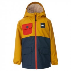Snowy Jkt - 18 mois à  5 ans - Picture Organic Clothing - Golden Yellow - 2022