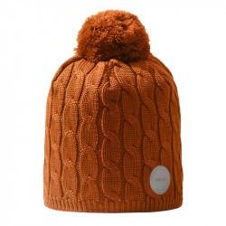 Bonnet enfant en laine merinos Nyksund - Reima - Cinnamon brown - 2022