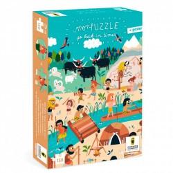 Puzzles Go Back in time - Nature Préhistoire - Pirouette Cacahouète