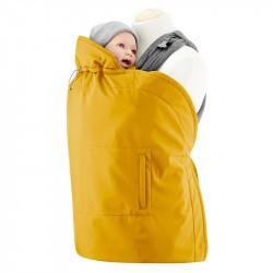 Couverture de portage Mamalila imperméable et softshell - Moutarde