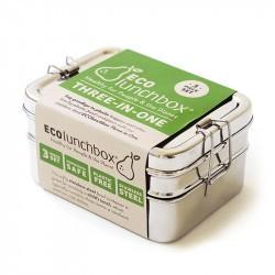 3 in 1 Classic- Bento inox - ECOlunchbox