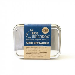 Boîte inox Solo Rectangle - ECOlunchbox