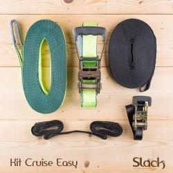 Slackline enfant et débutant avec main courante - Kit Cruise Easy