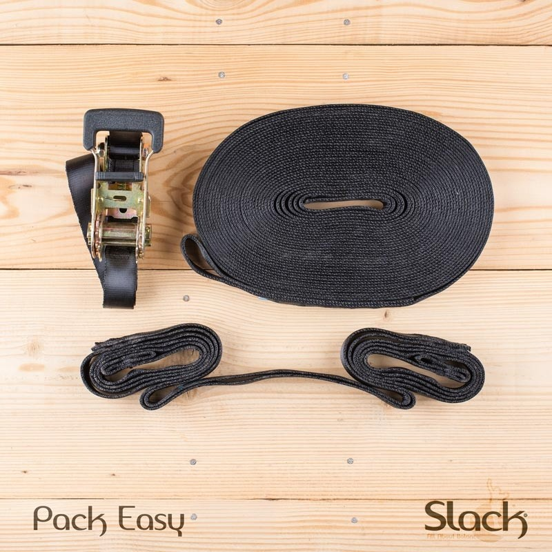 Main courante pour slackline - Pack Easy