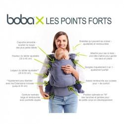 BOBA X - Gris - De la naissance à 5 ans