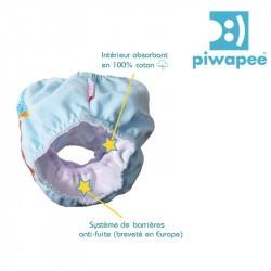 Maillot de bain couche Piwapee - Castor