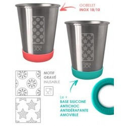 Set de 2 Gobelets Inox enfant - Gaspajoe Party