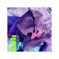 Capuchon bébé Zoli - Ocre/Gris-Bleu
