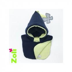 Capuchon bébé Zoli - Bleu Nuit Citron