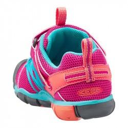 Sandales de marche bébé - Keen Seacamp - Violet et turquoise