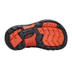 Sandales de randonnée enfant - Keen Newport H2 - Dark Earth / Spicy Orange