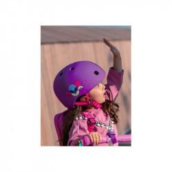 Casque bol enfant  Micro - 3-6 ans  (48 - 53 cm ) - Floral