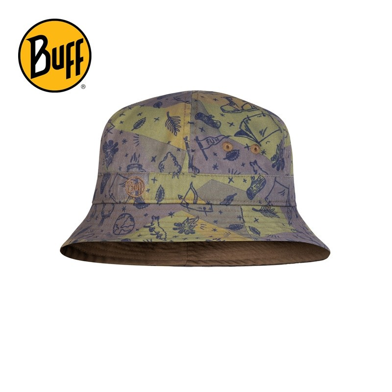 Chapeau anti-UV enfant Buff - Camp Kaki