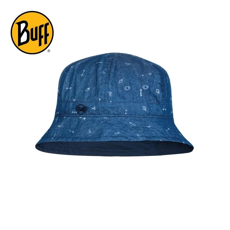 Chapeau anti-UV enfant Buff - Arrow Denim
