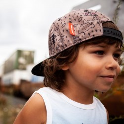 Chapeau de soleil bébé et enfant de Zoli - Chance rose