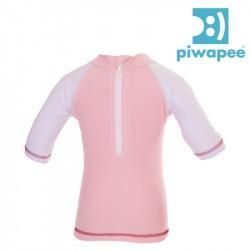Top lycra bébé anti-UV Piwapee - Flamingo