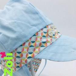 Chapeau de soleil bébé et enfant de Zoli - Lazu