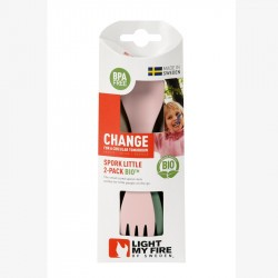 Spork little BIO, lot de 2 - Light My Fire