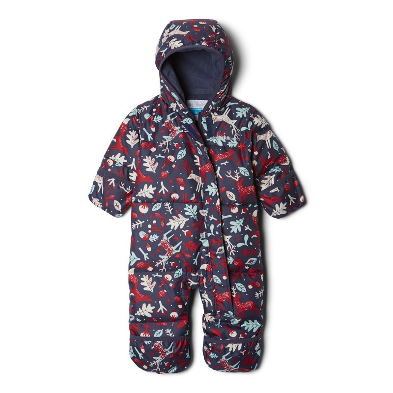 Combinaison bébé hiver en duvet Columbia Snuggly Bunny - Noctural Renne Bleu