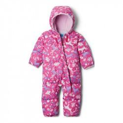 Combinaison bébé hiver en duvet Columbia Snuggly Bunny - Pink Ice Renne Rose