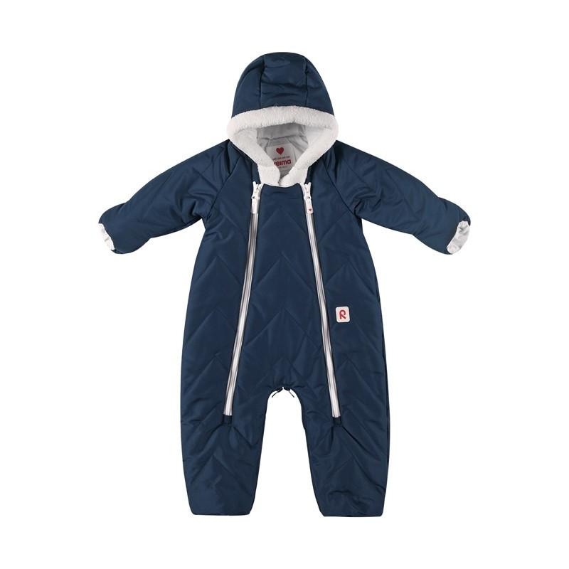 Combinaison bébé chaude et déperlante transformable en sac de couchage - Bleu - REIMA