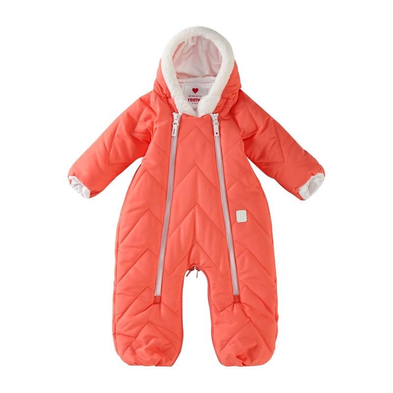 combinaison bébé chaude et déperlante transformable en sac de couchage - Corail - REIMA