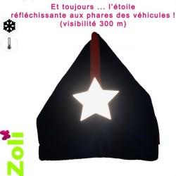 Capuchon enfant Zoli - Fushia/Vert