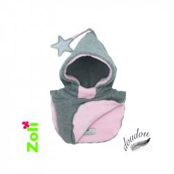 Combinaison bébé hiver en duvet Columbia Snuggly Bunny - Fleurs noires