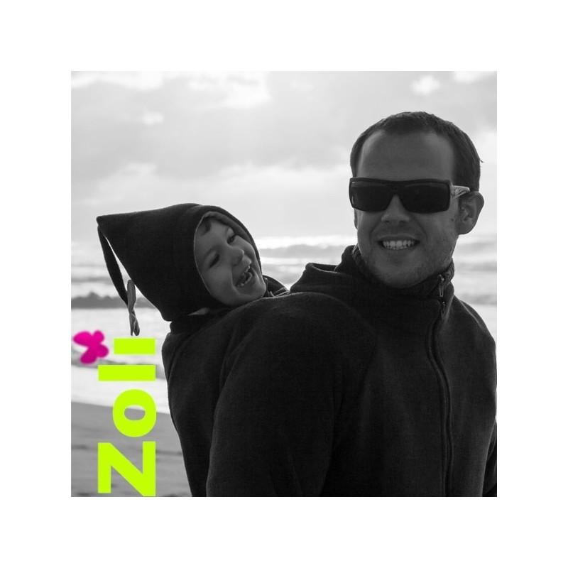 Veste de portage homme polaire Zoli - Black