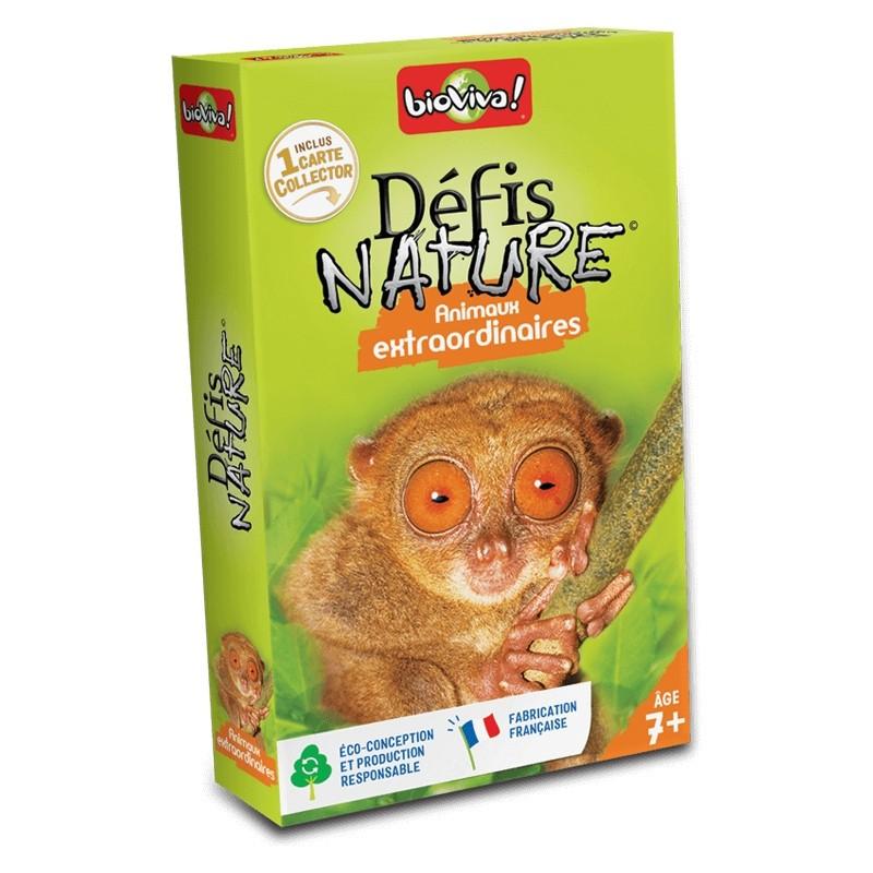 Défis nature - Animaux Extraordinaires - Bioviva