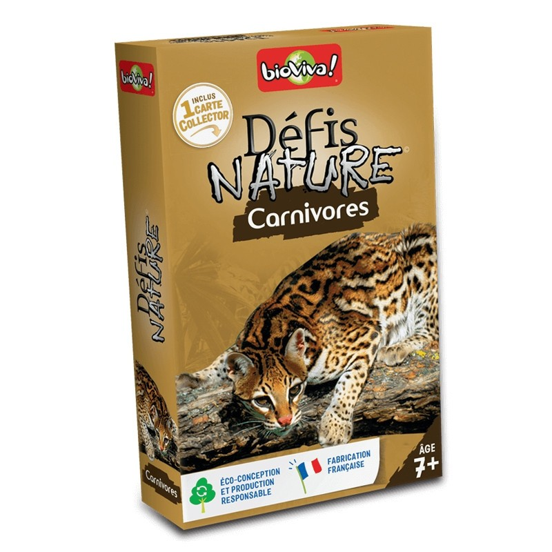 Défis nature - Carnivores - Bioviva