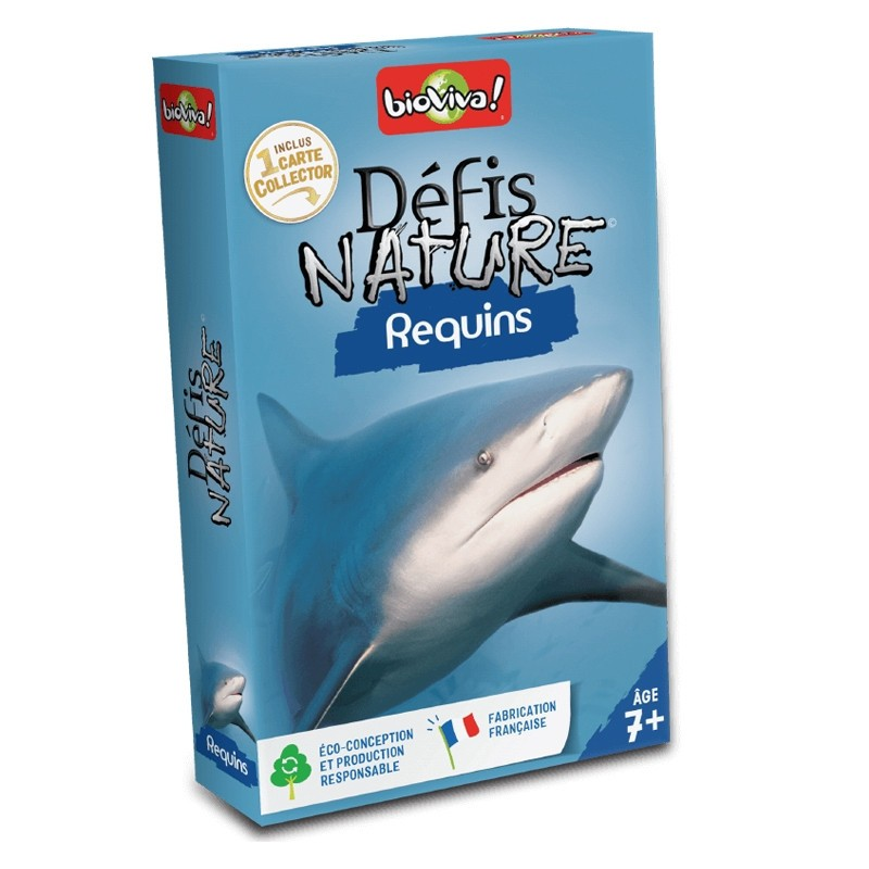 Défis nature - Requins - Bioviva