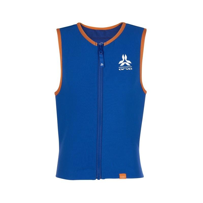 Dorsale ski enfant - Action Vest Jr Boy - Bleu/Orange - ARVA