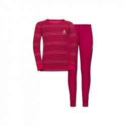 Ensemble active warm kids  Cerise - Odlo enfant