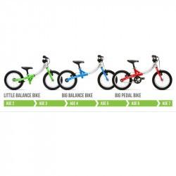 Draisienne évolutive en vélo - Little Big Bike - Rouge
