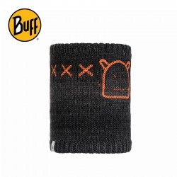 Cache cou enfant Buff - Tricot et polaire - Monster Jolly Black