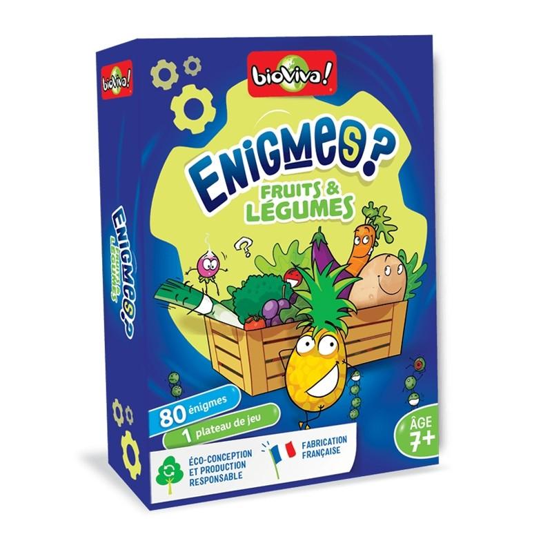 Enigmes Fruits et Légumes - Bioviva