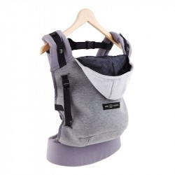 HoodieCarrier - Love Radius - Gris Flanelle