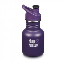 Kid Kanteen 350 ml en Inox - bouchon Sport - Grape Jelly / Mat