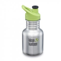 Kid Kanteen 350 ml en Inox - bouchon Sport - Brushed Stainless