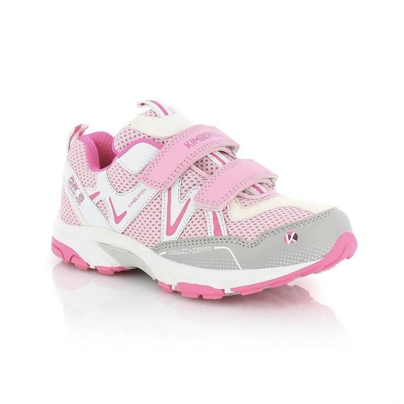 Chaussure multi-activités enfant avec velcro - Kimberfeel Pilat - Bonbon